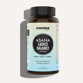 Asana LadiesBalance Complete Multivitamin for Healthy Hormones & Fertility
