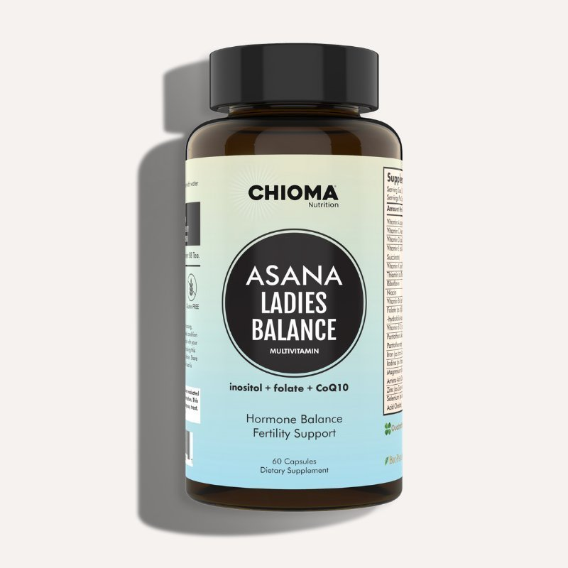 Asana LadiesBalance Complete Multivitamin for Healthy Hormones & Fertility