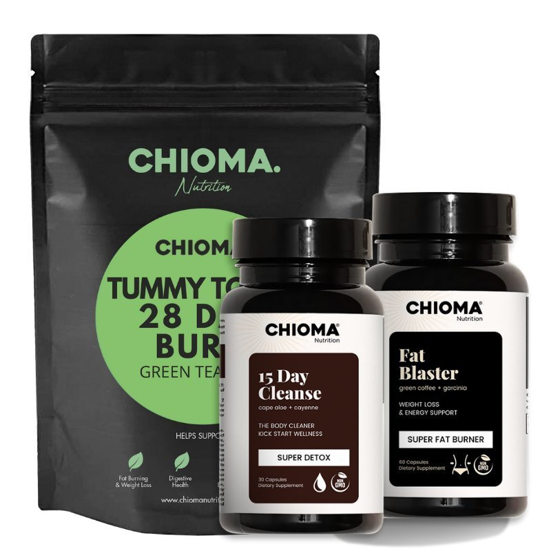 cleanse burn and detox slimming bundle for body contouring